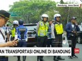VIDEO: Polisi Imbau Transportasi Online Tak Lagi Beroperasi