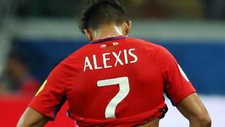 Kenakan Nomor 7, Alexis Sanchez Semangat Buru Gelar di MU