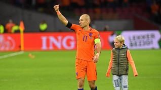 Gagal ke Piala Dunia 2018, Robben Liburan ke Indonesia