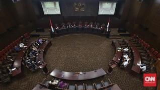 MK Tolak Gugatan Partai Garuda soal Ambang Batas Parlemen