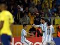 Lionel Messi Antar Argentina Lolos ke Piala Dunia 2018