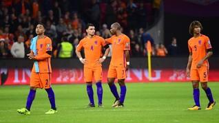 Belanda Jalani 50 Pertandingan dari 10 Piala Dunia