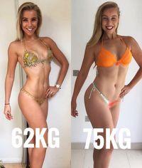 Selain olahraga terlalu berat, Chessie juga sempat melakukan diet keras yang membuat tubuhnya kurus. Ia akan selalu khawatir dan menghitung kalori yang ia asup setiap harinya. (Foto: Instagram @chessiekingg)