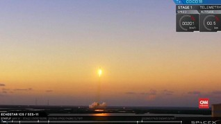 VIDEO: SpaceX Kembali Luncurkan Roket Falcon 9