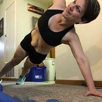 Meski kulit bergelambir, jangan jadi berhenti olahraga ya! (Foto: instagram/annio82)