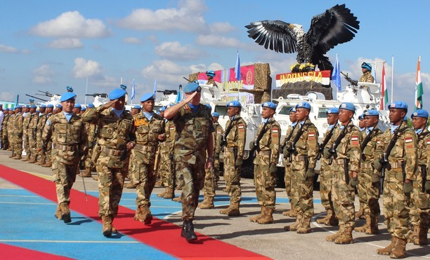 Penganugerahan UN Medal Kepada Prajurit Kontingen Garuda UNIFIL 2017