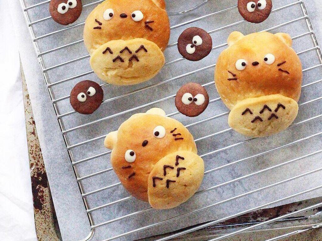 Kalau yang ini roti berbentuk totoro. Lucu nggak? Foto: Instagram sweet_essence