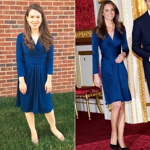 Wanita Ini Viral karena Bergaya Persis Kate Middleton dengan Baju Murah