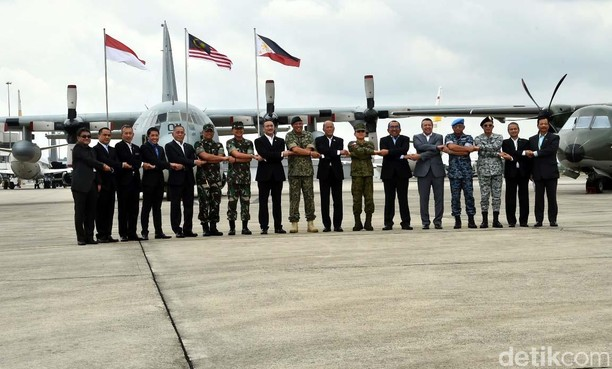 Indonesia, Malaysia dan Filipina Gelar Patroli Udara Bersama