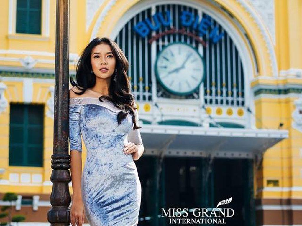 Foto: Cantiknya Dea Rizkita, Finalis Miss Grand International yang Peduli Anak