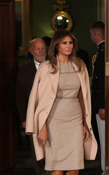 Melania Trump Pakai Baju dari Label Kekinian yang Jadi Favorit Millennials