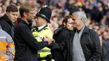 Jelang Liverpool vs Man United: Klopp Unggul dari Mourinho