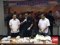 Polisi Tangkap Tiga Pengedar Sabu Kemasan Buku dan Sabun