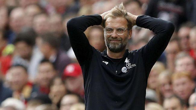 Jelang Liverpool vs Roma, Rapor Buruk Bayangi Juergen Klopp