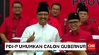 PDI Perjuangan Umumkan Calon Gubernur Jatim dan Sulsel