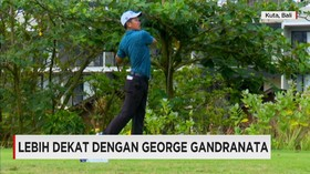 Lebih Dekat Dengan Pegolf Profesional, George Gandranata