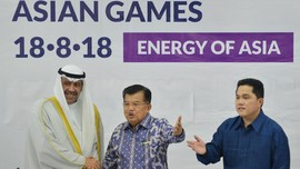Jusuf Kalla Kagum dengan Ruang Kendali Asian Games 2018