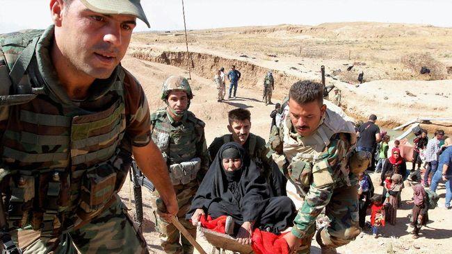 Pasukan Kurdi Tangkap Delapan WNA Terduga Militan ISIS