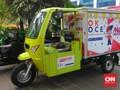 Motor Box OK OCE Meriahkan Pelantikan Anies-Sandi