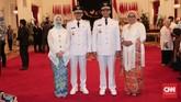 Anies-Sandi akan memimpin DKI Jakarta periode 2017-2022 menggantikan Djarot Saiful Hidayat. Anies-Sandi memenangi Pilkada DKI Jakarta diusung Partai Gerindra dan PKS. (CNN Indonesia/Safir Makki)