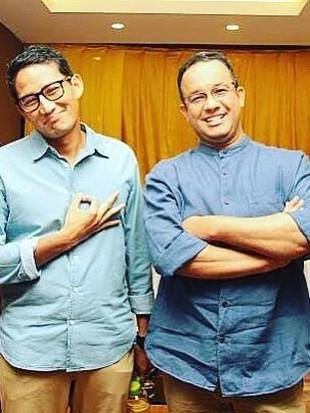 Beda Gaya Anies & Sandi Uno, Gubernur dan Wakil Gubernur DKI Jakarta Terbaru