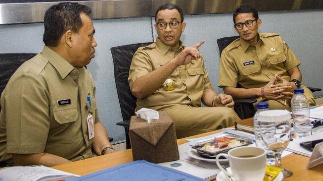 Pejabat DKI Dicopot Anies karena Kinerja Rendah
