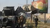 <p>Namun, operasional dimulai kembali tak lama setelah pihak Irak mengancam akan merebut kilang minyak dari manajemen Kurdi. (AFP Photo/Ahmad Al-Rubaye)</p>
