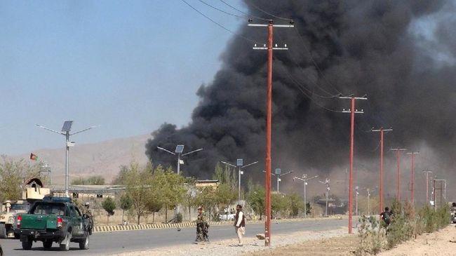 Taliban Serbu Pos Polisi Afghanistan, 67  Tewas