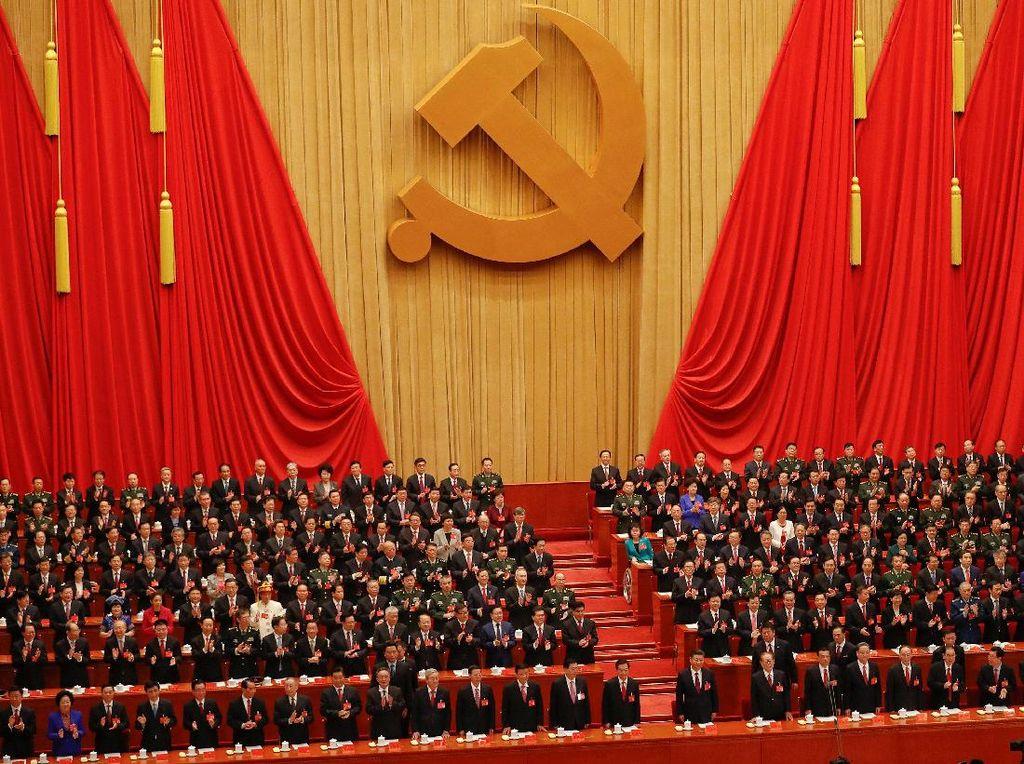 Kongres Partai Komunis China ke-19 mulai digelar di Beijing, pada Rabu (18/10) ini. Foto: REUTERS/Damir Sagolj