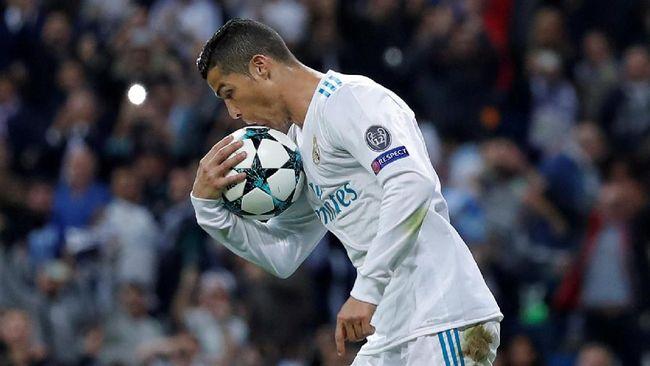 Ronaldo Diklaim Bikin Taruhan Jadi Pencetak Gol Terbanyak