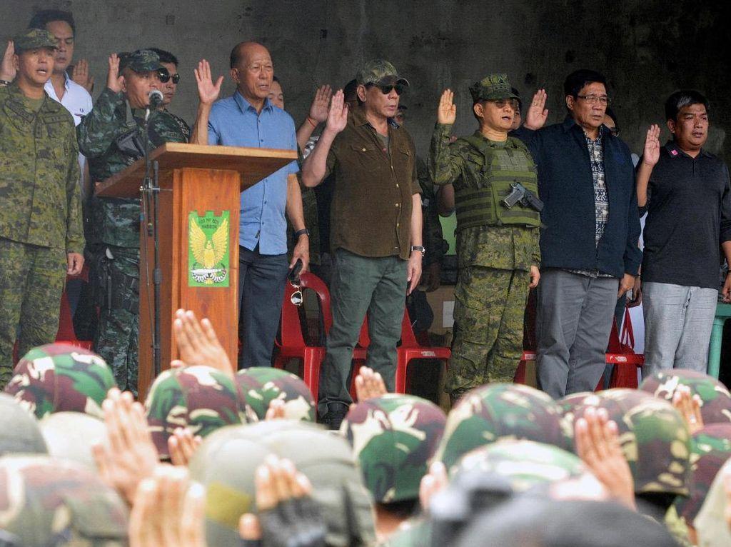 Kota Marawi dinyatakan terlepas dari pegangan kelompok teroris Abu Sayyaf setelah konflik selama kurang lebih 5 bulan sejak Mei 2017 lalu.