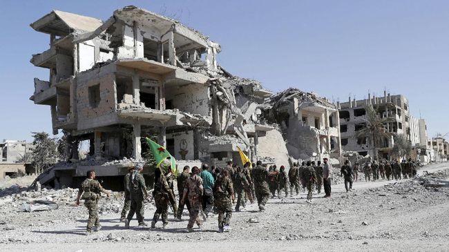 Turki Marah AS Bantu Bentuk Pasukan Baru di Suriah