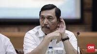 Luhut Ancam Polisikan Penyebar Hoaks Cium Kaki Prabowo