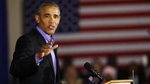 Barack Obama dan Jaket Bomber Rp8,4 Juta