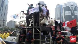 Ada 16 Mahasiswa Jadi Tersangka Demo Ricuh 3 Tahun Jokowi