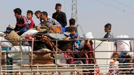 Irak Rebut Kirkuk, 100 Ribu Kurdi Kabur Hindari Persekusi