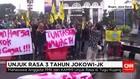 3 Tahun Jokowi-JK Diwarnai Unjuk Rasa