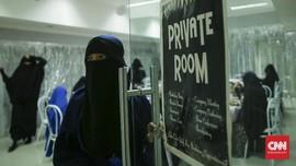 FOTO: Fenomena Niqab Squad di Indonesia