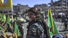 Para Perempuan Pembebas Raqqa dari ISIS
