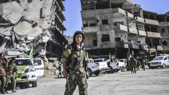 AS Tarik Tentara Dari Perbatasan Turki, Etnis Kurdi Kecewa