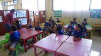 Setiap harinya, posyandu cerdas ini digunakan untuk kegiatan pendidikan anak usia dini (PAUD). Foto: Widiya Wiyanti/detikHealth