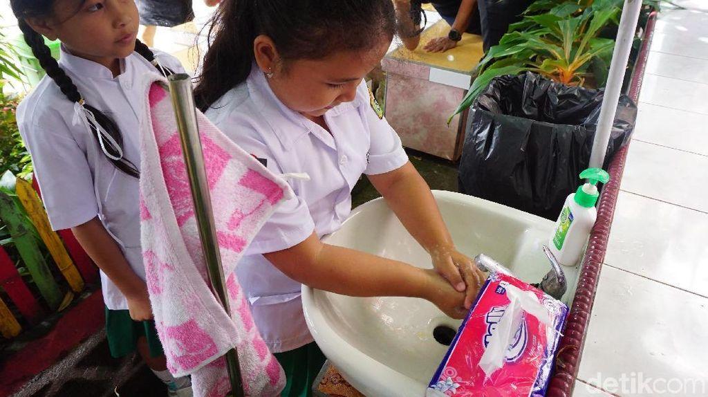 Sekolah di Sulut yang Jadi Panutan Karena Pentingkan Kesehatan Siswa