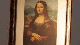 Lukisan 'Mona Lisa Berkumis' Terjual Rp10 Miliar