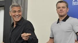 Matt Damon Sebut George Clooney Telah Dewasa Usai Punya Anak