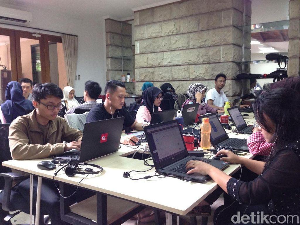 BukaLapak saat ini kabarnya sudah mempekerjakan sekitar 1.500 karyawan. Foto: detikINET/Agus Tri Haryanto
