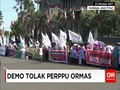Aksi Menolak Perppu Ormas di Surabaya