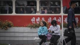 FOTO: Potret Kehidupan Warga di Korea Utara