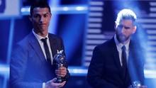 Gelar Pemain Terbaik Messi Lebih Banyak dari Ronaldo