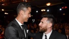 Gol Ronaldo di Liga Unggul Tipis atas Messi