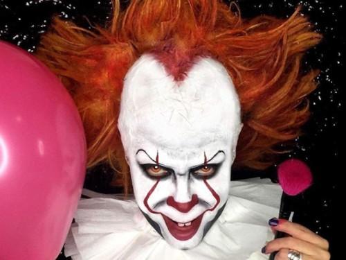 Viral, Tren Makeup Seram ala Badut Pennywise